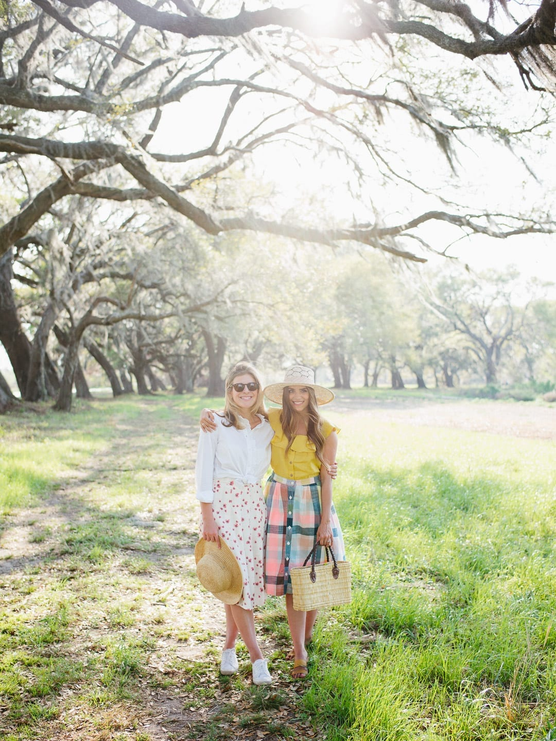 girls smiling live oaks