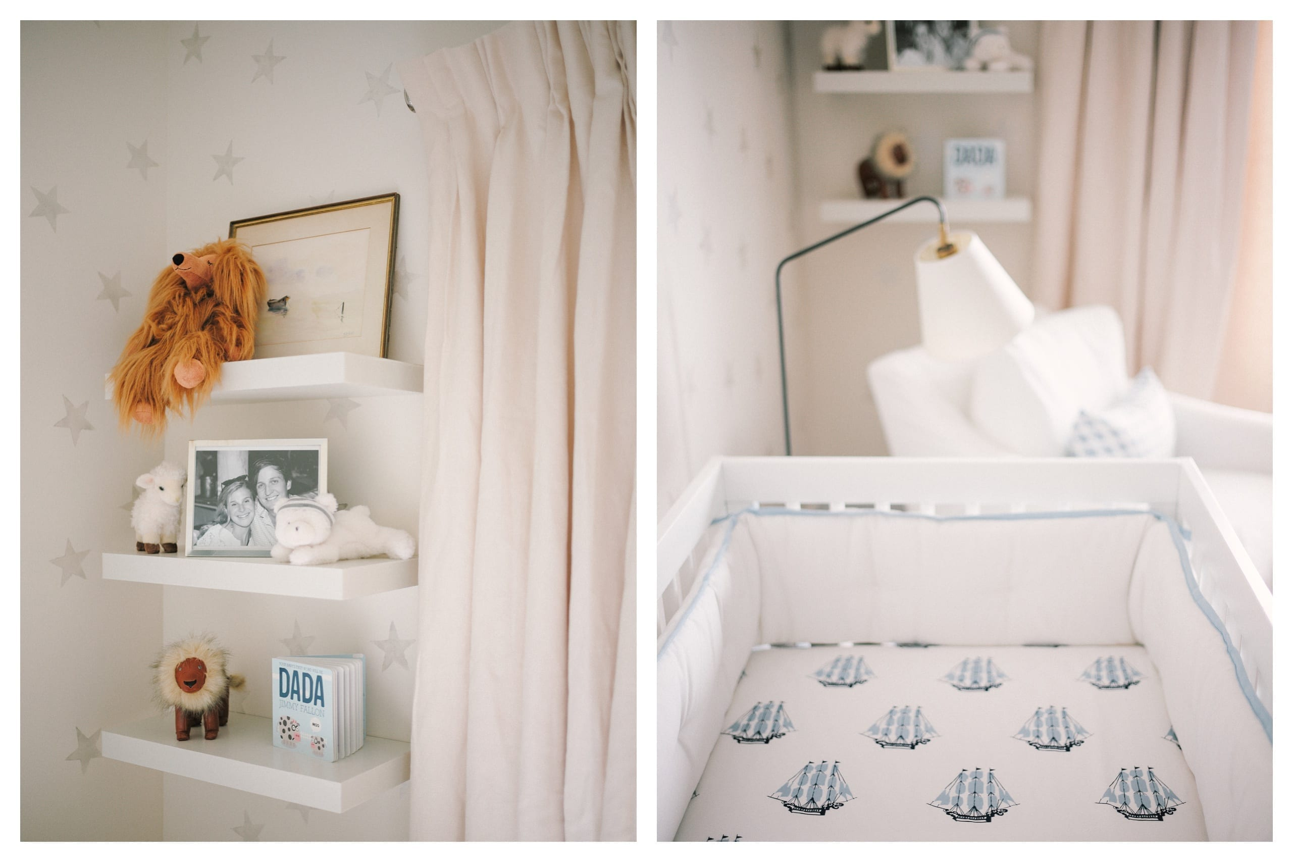Baby boy nursery inspiration Lucy Cuneo
