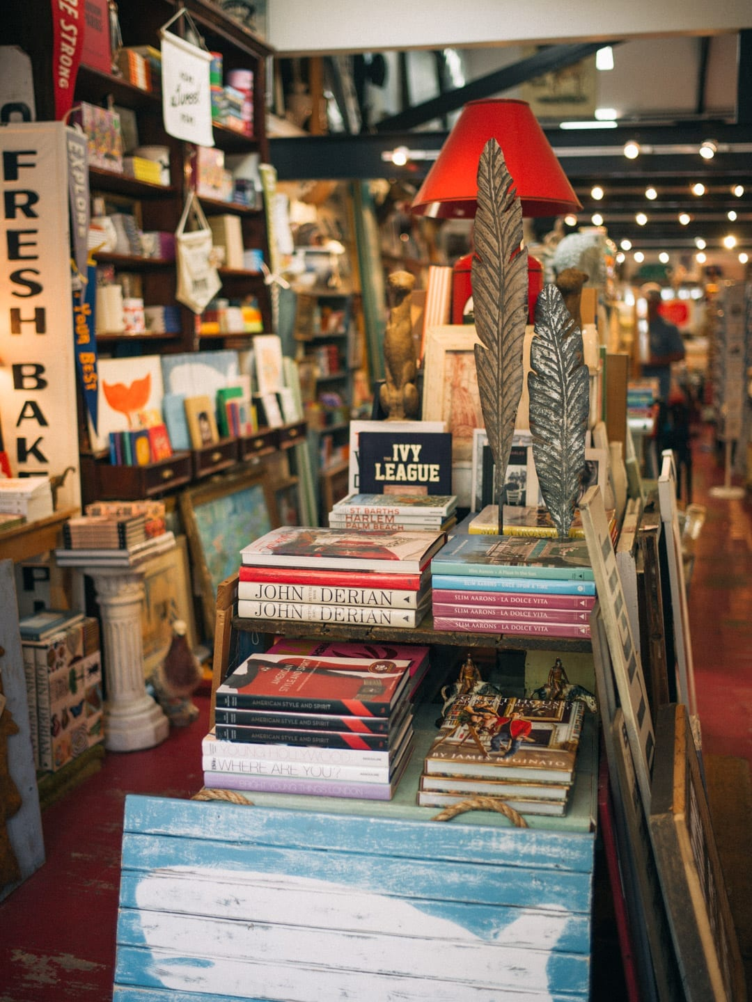 Martha's Vineyard Guide - Inside a cozy bookstore on Martha's Vineyard