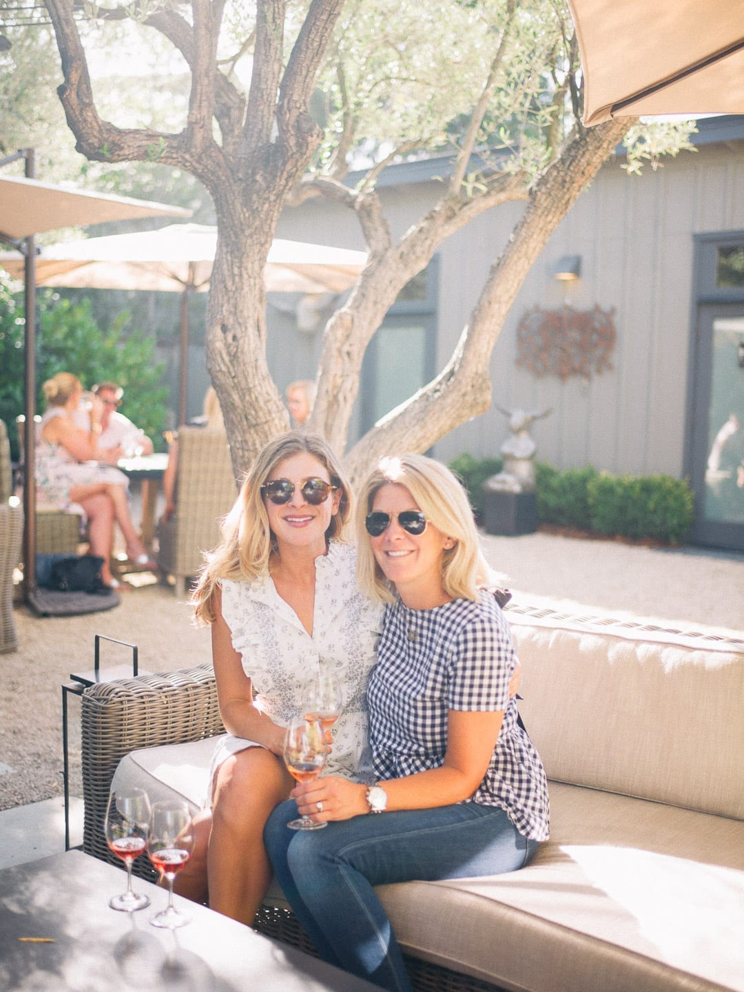 Visiting Napa with Lucy Cuneo