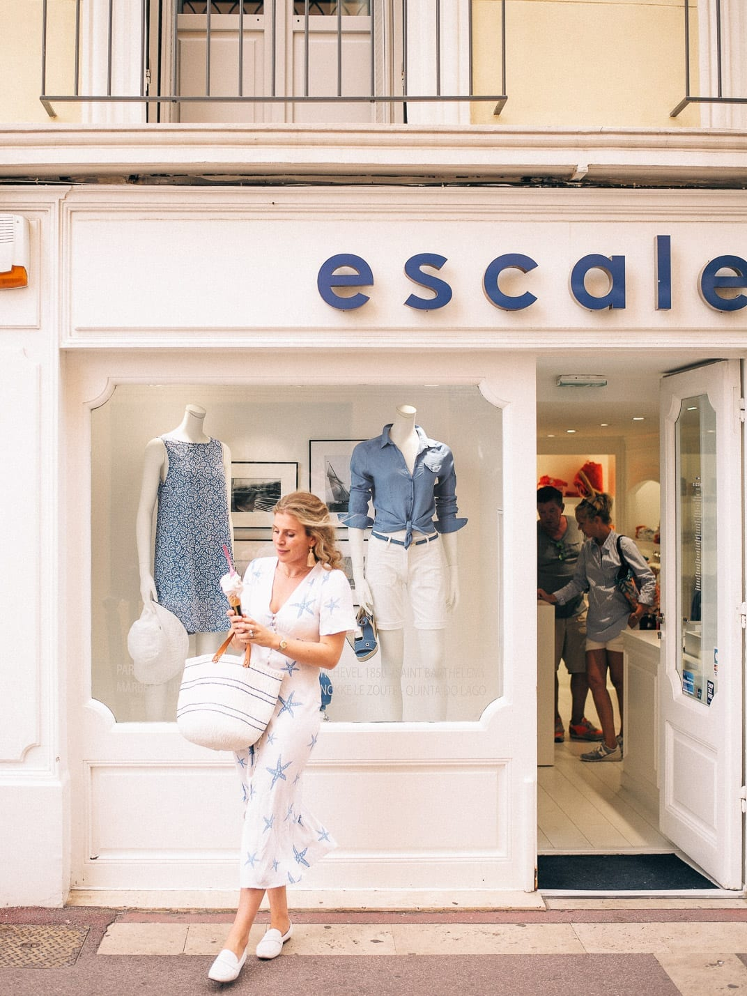 Lucy Cuneo: St Tropez guide - shopping with ice cream!